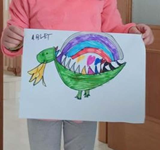 Arlet, 6 años
