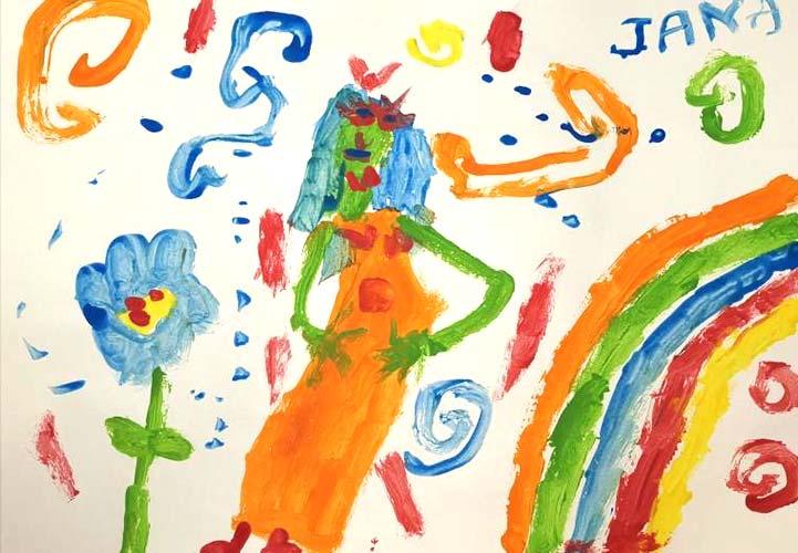 Aitana, 9 años