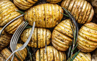 Patatas estilo Hasselback portada